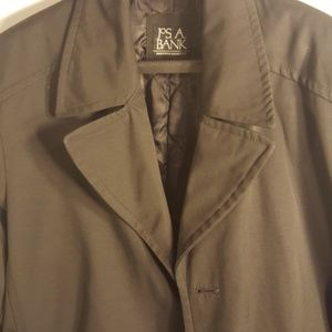 Joseph A Banks Trench coat